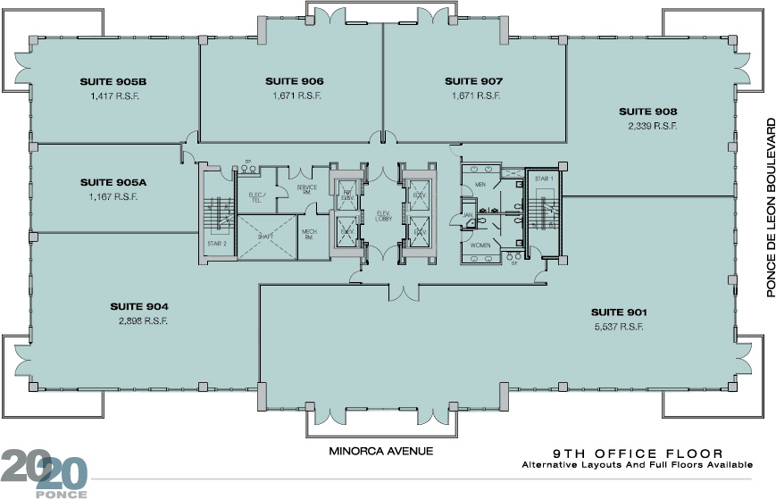 2020ponce Floor Plans